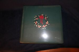 Creative-Memories-Green-Xmas-Old-Style-12x12-Flex-Hinge-Album-NIP-With-Pages