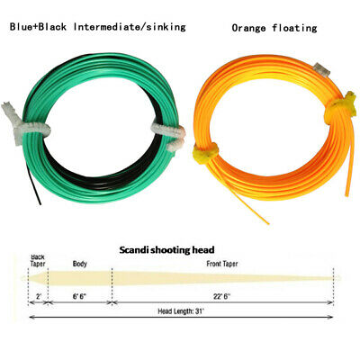 Aventik Floating//Sinking Shooting Line Running Line Fly Line 100ft With Loop