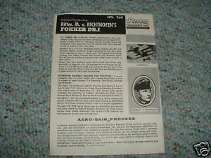 Renwal-1-48-Richthofen-039-s-Fokker-DR-1-Instructions-E