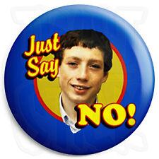 Grange Hill - Zammo - Just Say No 25mm Button Pin Badge - Retro Kids TV Program
