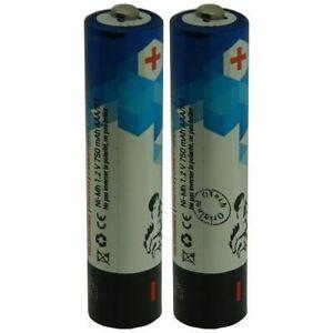 Packung-von-2-Batterie-Schnurpackes-Telefon-fuer-Siemens-Gigaset-A420-Duo