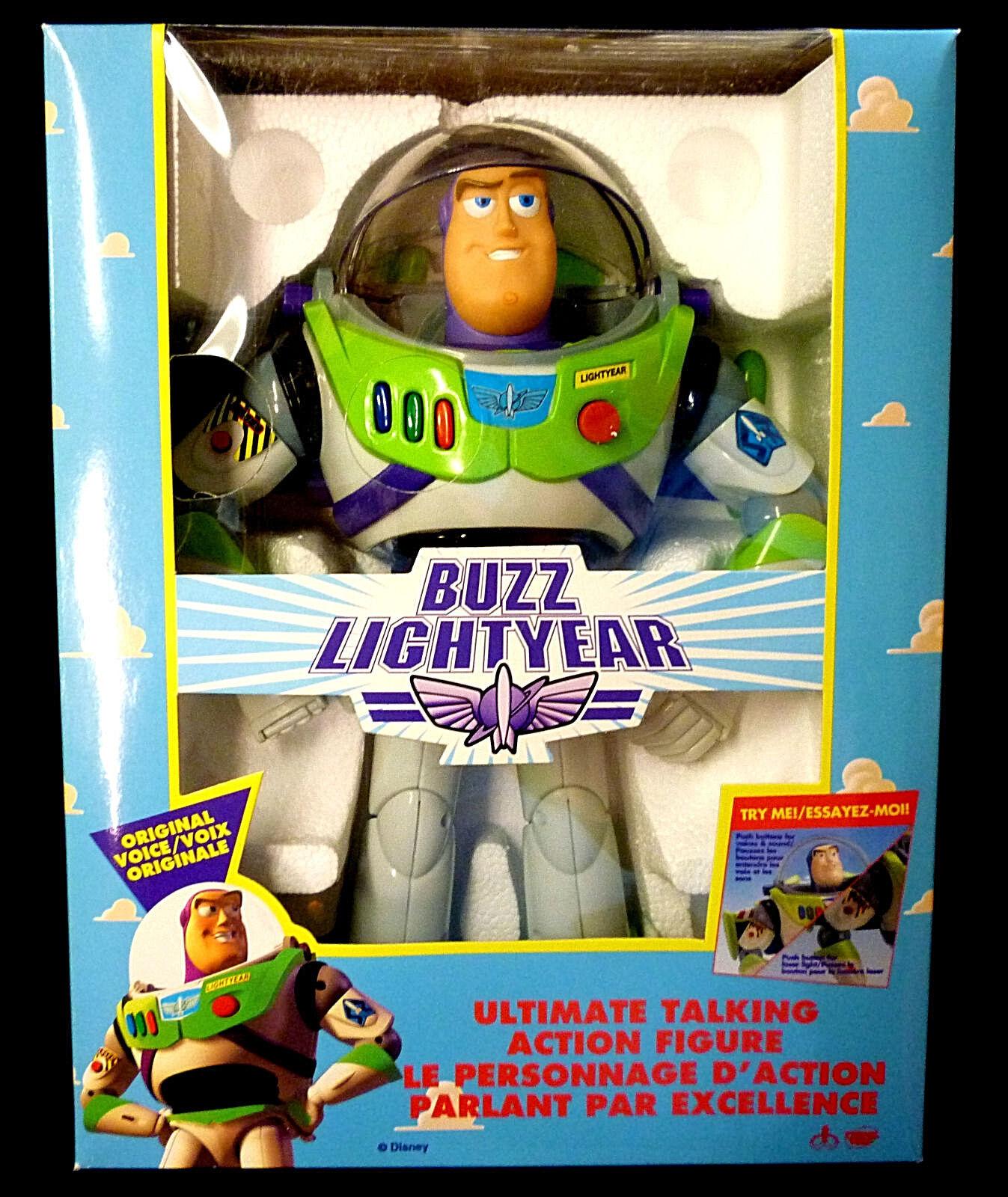 Toy Story Electronic Talking Buzz Lightyear Action Figure ThinkwayToys1995