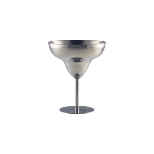 Acier Inoxydable Margarita verre 30cl//10.5oz cocktails verres PUB Barware Sundae