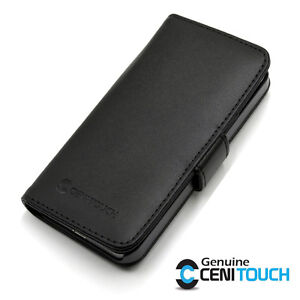 CENITOUCH-Genuine-Real-Leather-Wallet-Flip-Case-Cover-for-Apple-iPhone-4-4S