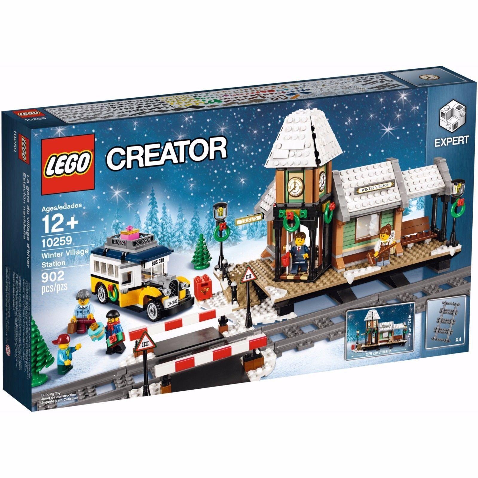 LEGO  CREATOR EXPERT 10259 STAZIONE DEL VILLAGGIO INVERNALE NUOVO  perfezionare