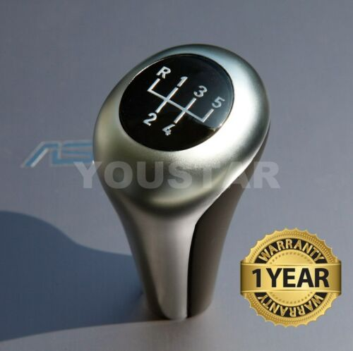 US Seller Performance Manual Gear Shift BMW 5 Speed Matt CHROME SILVER BLACK