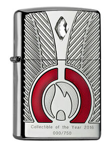 Zippo-Allemand-Collection-Of-The-Year-2016-Edition-Limitee-536-750-Armor-Case