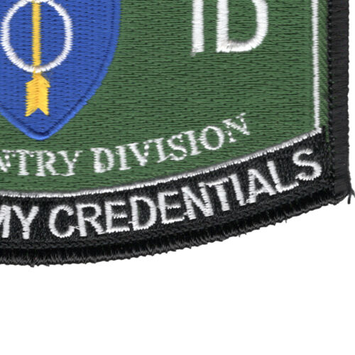 8th Infantry Division Hat Patch
