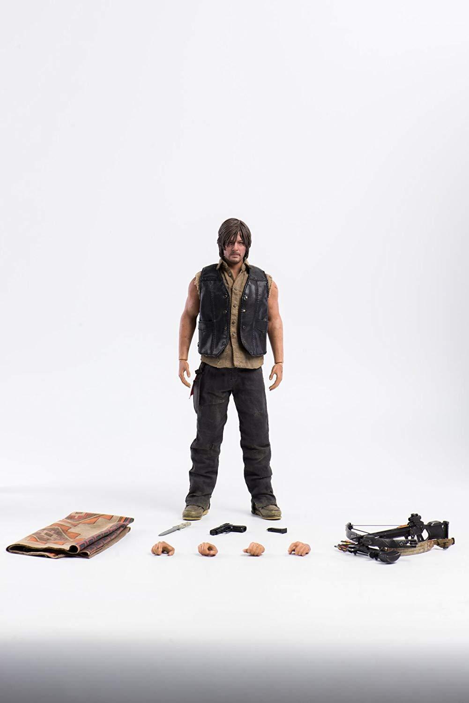 Escala 1 6 figura The Walking Dead Daryl Dixon por Threezero 903161