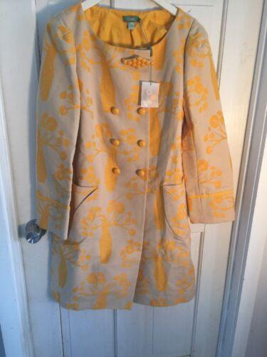 M Intotrogia Nwt Jacket Intarsia Coat Hoss Anthropologie XUYHx