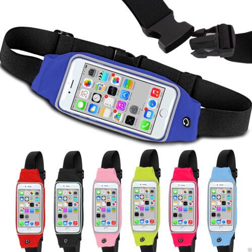 Sports Running Jogging Gym Waist Band Bum Bag Case For Samsung Galaxy Note 7