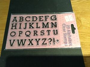 CLEAR STAMP IN ALPHABET - <span itemprop='availableAtOrFrom'>Taunton, Somerset, United Kingdom</span> - CLEAR STAMP IN ALPHABET - <span itemprop='availableAtOrFrom'>Taunton, Somerset, United Kingdom</span>
