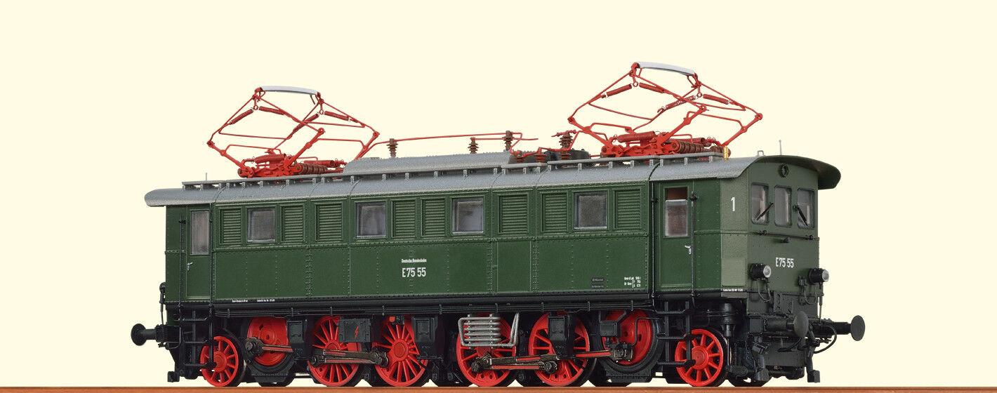 Brawa 43232 Electric Locomotive E75 55 Db Ep.iii Ho Basic + New