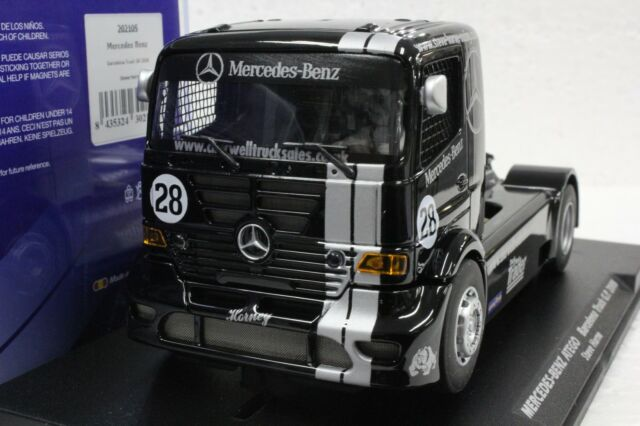 Fly 202105 MERCEDES BENZ ATEGO Race Truck 1/32 Slot Car in Display Case
