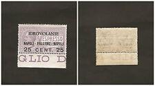 Regno d'Italia Posta Aerea 1917 (27 giugno) Espresso urgente non emesso soprasta