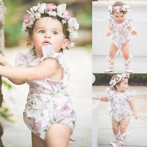 26d87c3d0 Image is loading Newborn-Infant-Baby-Girl-Playsuit-Backless-Romper-Jumpsuit-
