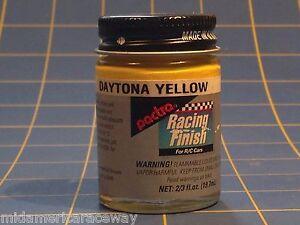Pactra RC57 Daytona Yellow Lexan Paint 2/3 oz Mid America
