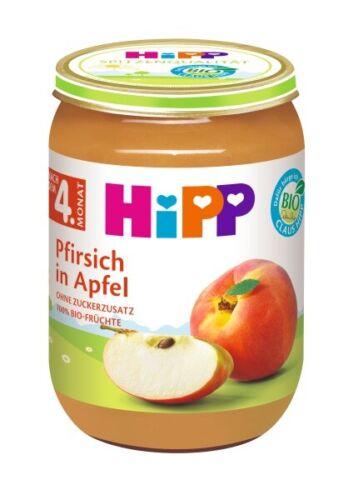 18,95 EUR//1000 g Hipp Früchte Pfirsich in Apfel 190g PZN 00262214