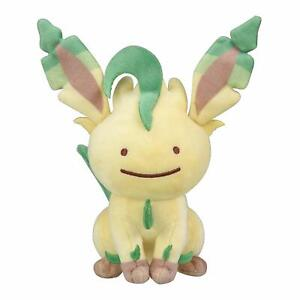 Pokemon-Center-Original-Plush-doll-Transform-Ditto-Leafeon-import-japan