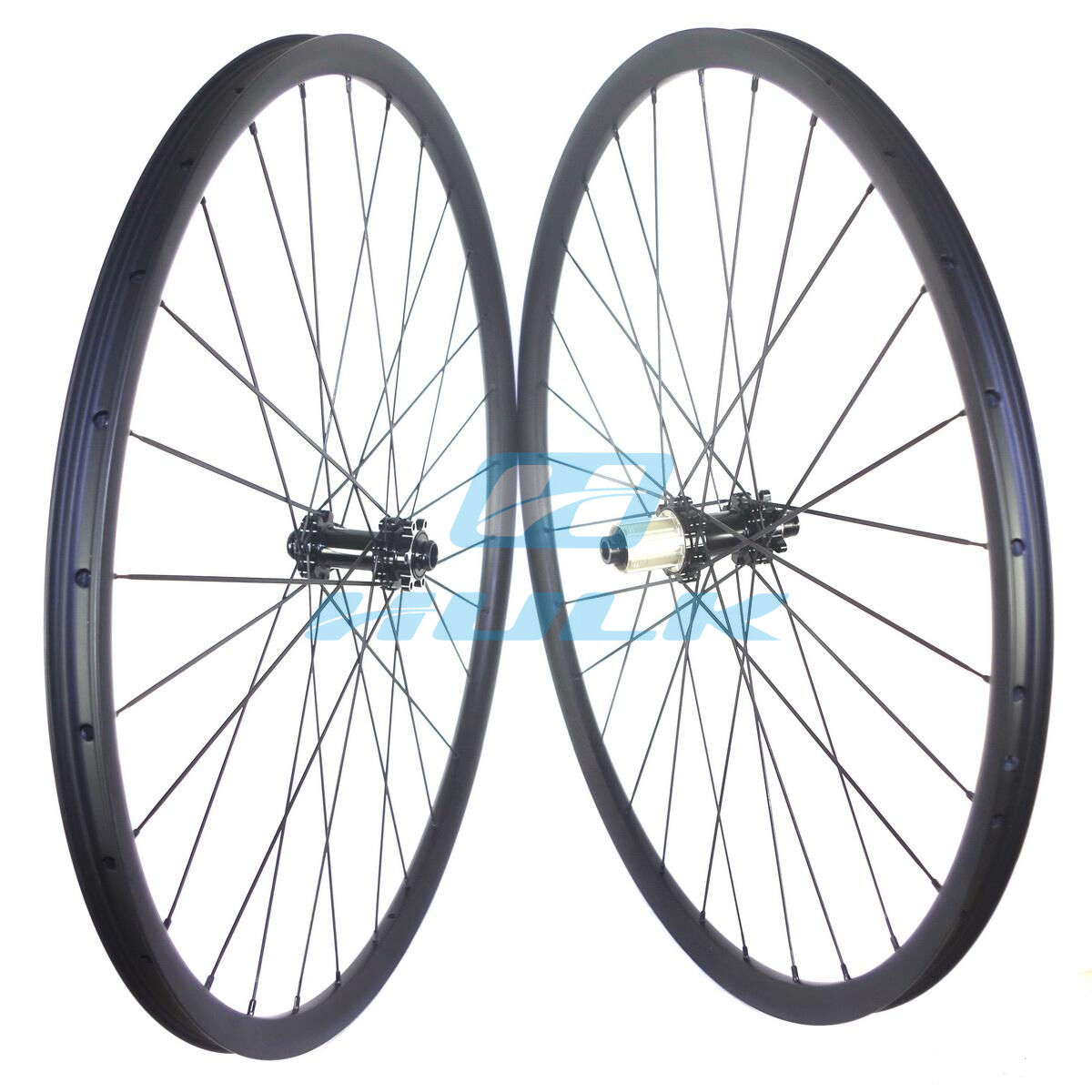 29er 27mm  width Carbon wheelset for mountain bike powerway straight pull MTB hub  cheap sale outlet online