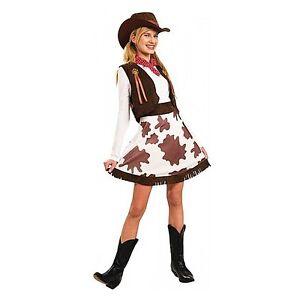 Rodeo Cowgirl Cowboy Wild West Halloween Ladies Womens ...
