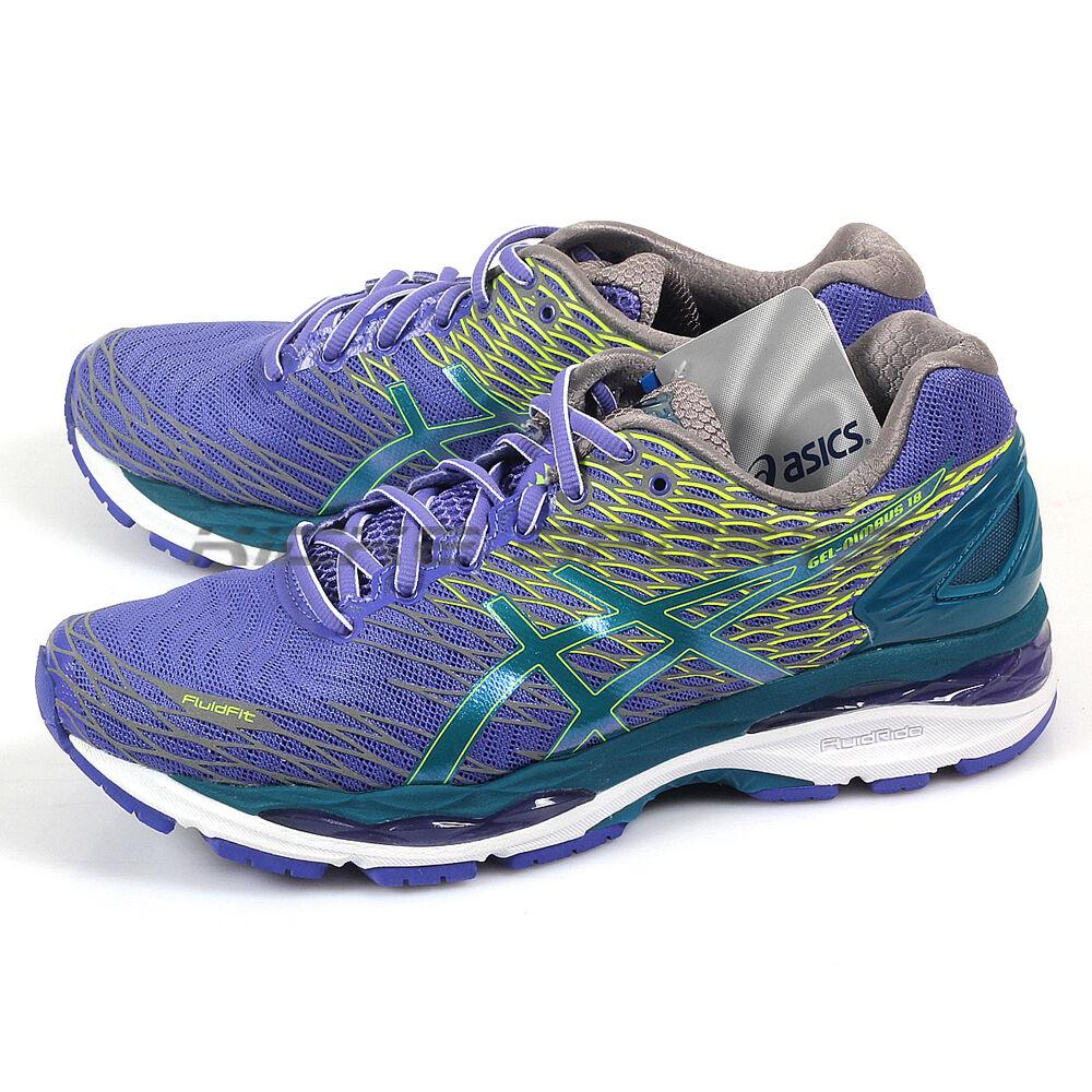 Asics Gel-Nimbus 18 Lite-Show Blue Iris/Deep Green/Silver Running T60XQ-5338