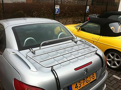 Peugeot 206CC Stainless Steel    Luggage Rack   Carrier   2000-2007   206 CC NEW