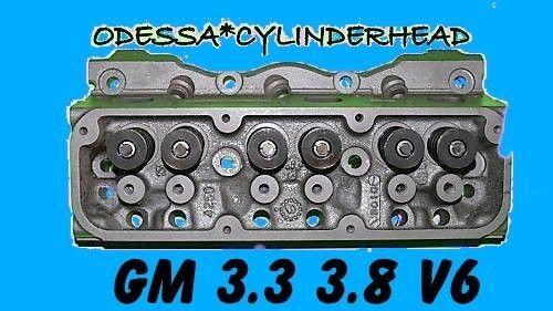 GM OLDS CIERA INTRIGUE 3.8 V6 OHV CYLINDER HEAD 1980-06 REBUILT