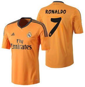 new arrival 5bf6f 2eb7e Details about ADIDAS CRISTIANO RONALDO REAL MADRID THIRD JERSEY 2013/14.