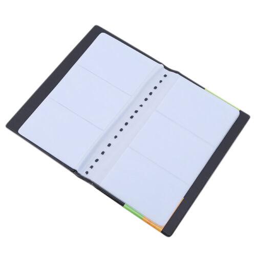 120 Card Business Name ID Holder PVC Credit Card Travel Book Wallet Folder KI