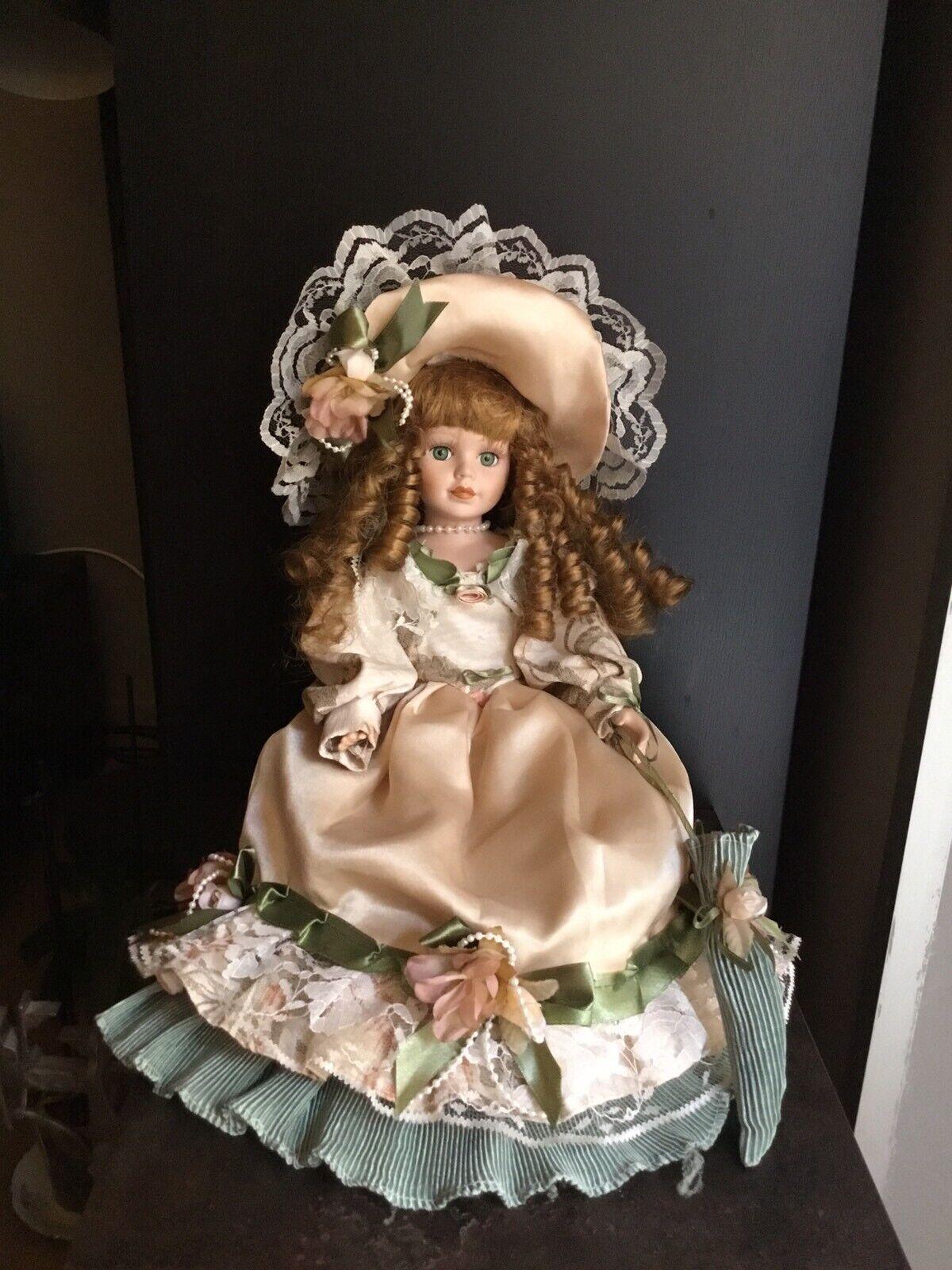Bambola Porcellana Biscuit Fatta A Mano In Italia Italian Biscuit Doll