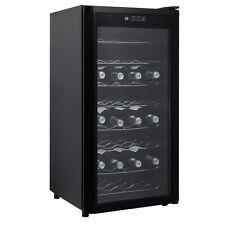 New 32 Bottles Wine Cooler Fridge Cellar Storage Holder Chiller Bar Rack Cabinet