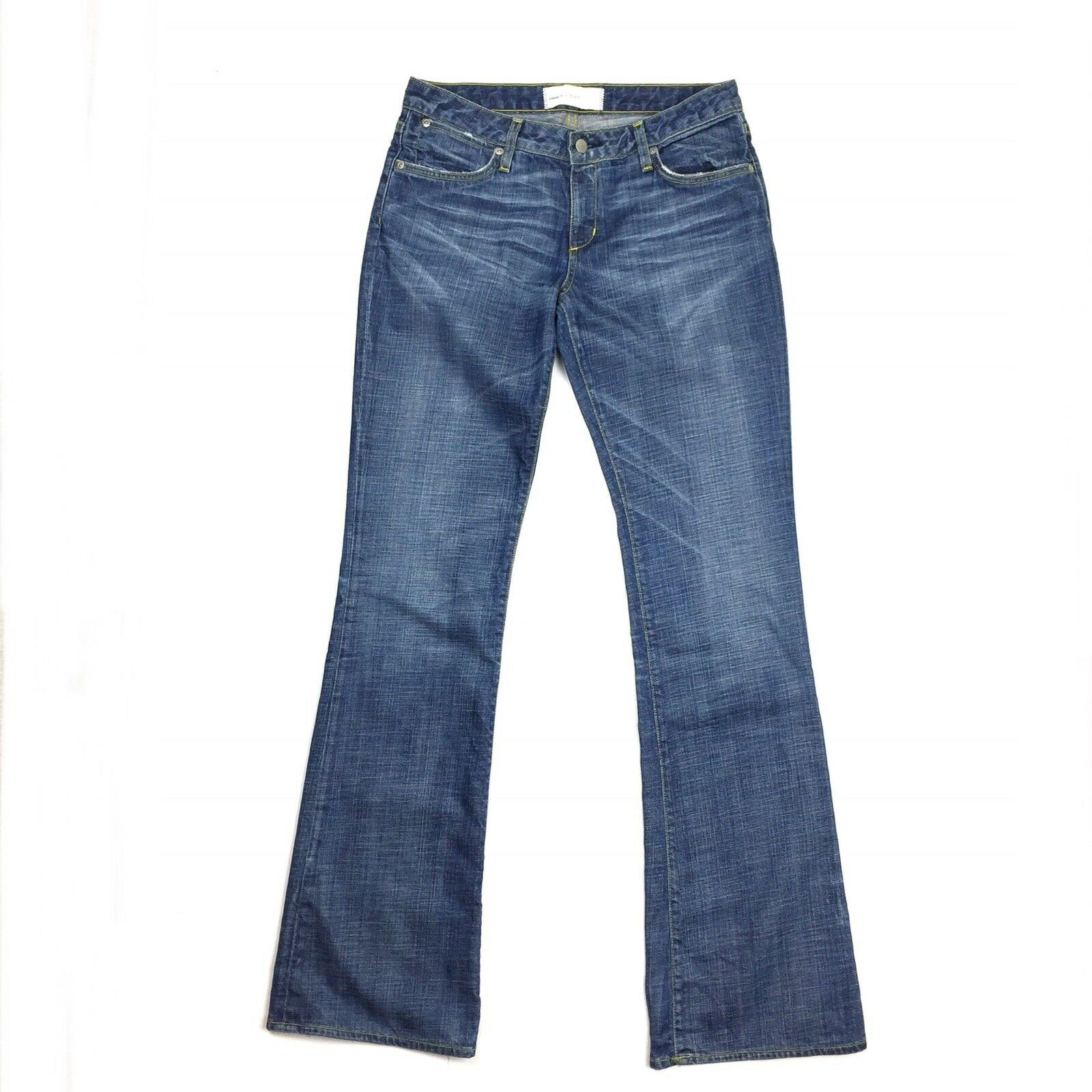 Paper Denim & Cloth Women's Jeans MADE IN USA low rise size 29 bluee