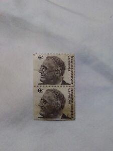 Image Is Loading US Postage Stamp Franklin D Roosevelt 6 Cent
