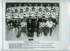 1970-71 HERSHEY BEARS AHL ORIGINAL TEAM ISSUE 8x10 HOCKEY PHOTOGRAPH / PHOTO