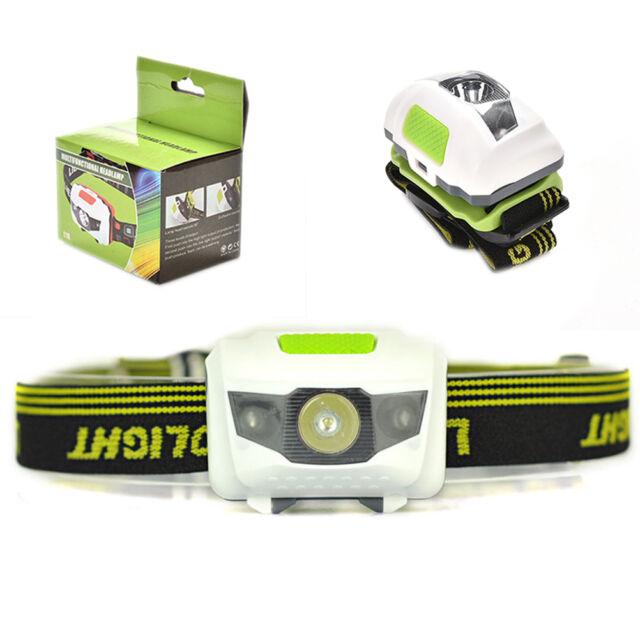 Mini Headlight LED Headlamp Head Torch Hiking Camping Waterproof Ultra Bright R