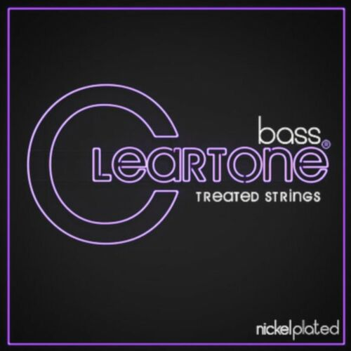 Cleartone Bass Guitar Strings Nickel Plated No Feel Coating 40-100 Light