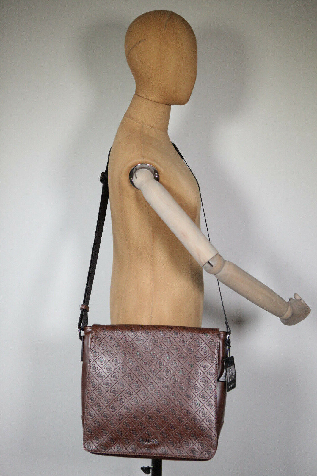 Neu Guess Herren Tasche Tasche Tasche Umhängetasche Messenger Office Bag Boston Logo 19 (105) | Preisreduktion  4898ca