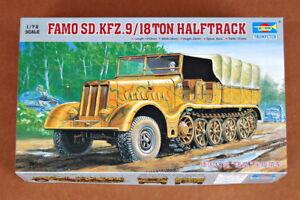 Trumpeter 1//72 07203 FAMO Sd.Kfz.9//18ton Halftrack