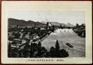 Rheinfelden-Basel-De-Stad-Groningen-Antique-Advertisement-Card-Early-1900-s