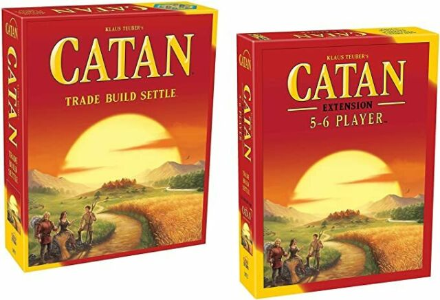 Mayfair Games 05512001894 Catan 5th Edition with 5-6 Player Extension Game