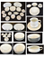 thumbnail 1 - VINTAGE Brentwood Fine China Dinnerware WHITE LACE 41-Piece Set JAPAN