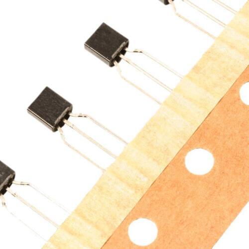 Bc547a transistor NPN 45v 100ma 500mw to92 utilizarse sin cinturón de CDIL