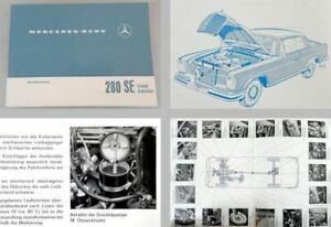Mercedes-Benz-280SE-8-W111-Coupe-Cabriolet-Betriebsanleitung-Original-1968