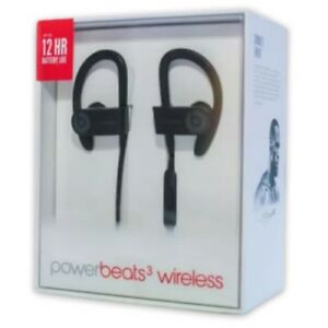 07b3e2de8e6 BLACK Open Box Beats By Dr. Dre. Powerbeats 3 Wireless Bluetooth ...