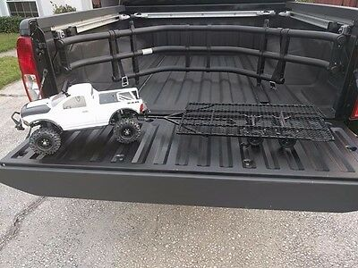 Metal RC Crawler Scale Trailer with Axles Hitch and Wheels Rock Crawler Car 1/10