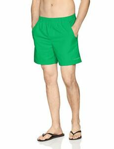 Columbia-Sportswear-Men-039-s-Backcast-III-Water-Shorts-Dark-Lime-L