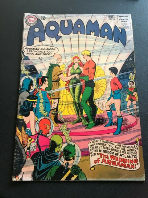 Aquaman 18 Nov Dec 1964 Dc For Sale Online Ebay