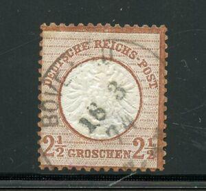 GERMANY-SCOTT-19a-USED-FINE-WITH-SISMONDO-CERTIFICATE