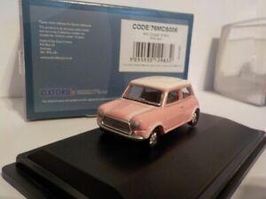 Pink-Mini-Oxford-Diecast-1-76-New-Dublo-Railway-Scale